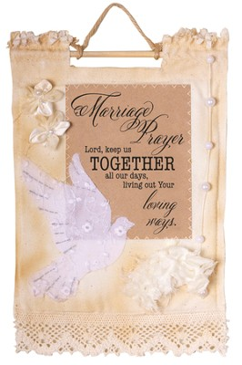 Marriage Prayer Wallhanging  -