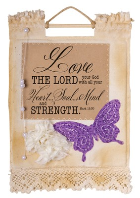 Love the Lord Wallhanging  -