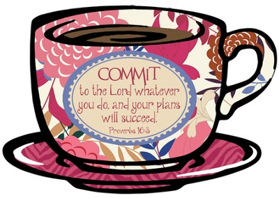 Commit To the Lord Plaque  -