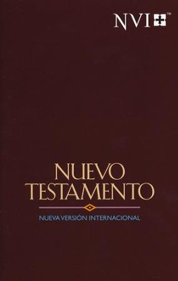 NVI, New Testament, Maroon Jewel  -