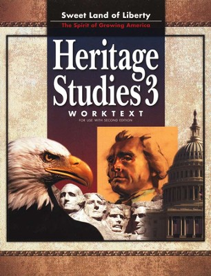 BJU Heritage Studies Grade 3 Student Worktext, Second Edition    -
