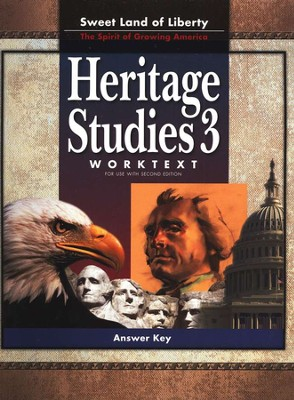 BJU Heritage Studies Grade 3 Student Worktext, Teacher's Edition  (Second Edition)  -
