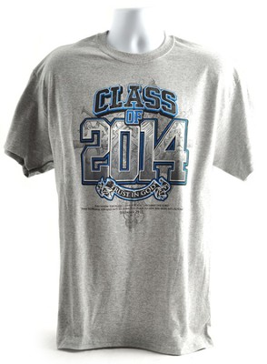 Class of 2014 Short Sleeve Tee, Small (36-38)  -
