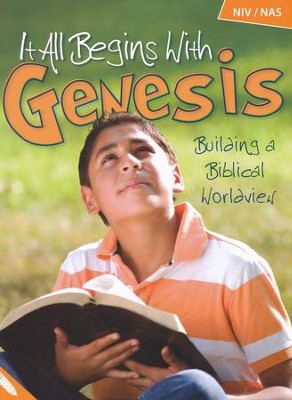 It All Begins with Genesis: Building a Biblical  Worldview Student Book (NIV/NAS)  -     By: Sheila Richardson