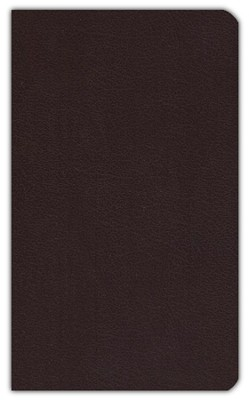 KJV Ultraslim Bible Burgundy Bonded Leather  -