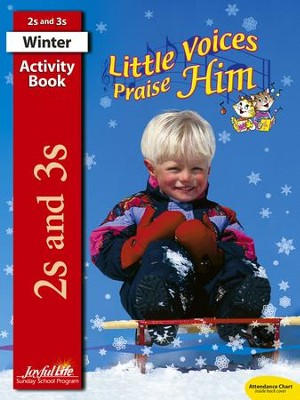 Little Voices Praise Him (ages 2 & 3) Activity Book   -