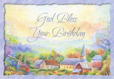 Love and Prayers Birthday Cards, Box of 12  -
