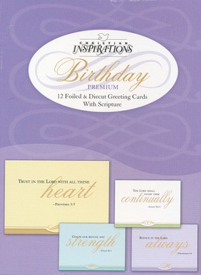 Blessings Beyond Measure Birthday Cards, Box of 12  -