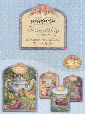 Tea Cups & Friends Friendship Cards, Box of 12  -     By: Susan Wheeler
