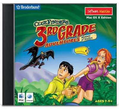 ClueFinders 3rd Grade Adventures on CD-Rom (for Windows & Macintosh)  -