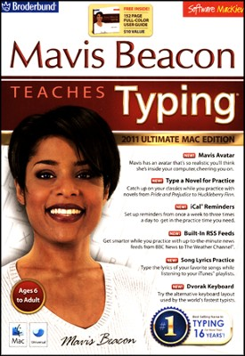 2011 Mavis Beacon Teaches Typing on CD-Rom (MAC OS X)   -