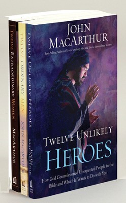 Twelve Unlikely Heroes, Twelve Ordinary Men & Twelve Extraordinary Women, 3 volumes  -     By: John MacArthur