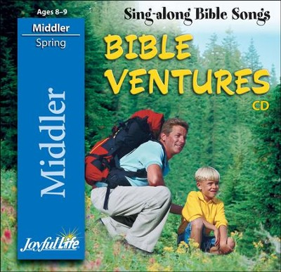 Bible Ventures Middler (grades 3-4) Audio CD (Spring  Quarter)  -