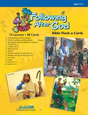 Following after God Beginner (ages 4 & 5) Bible Stories (Spring Quarter)  -