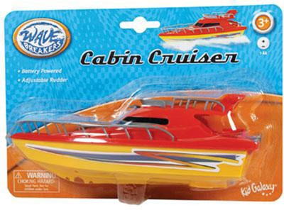 Wave Breakers Cabin Cruiser, Red  -