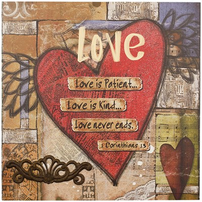 Love Is Patient Wall Art  -