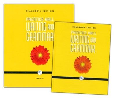Prentice Hall: Writing and Grammar 6th Grade  Homeschool Bundle  -