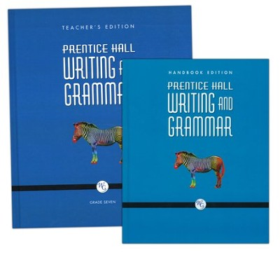 Prentice Hall: Writing and Grammar 7th Grade  Homeschool Bundle  -