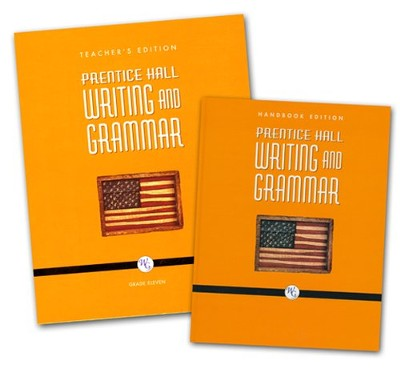 Prentice Hall: Writing and Grammar 11th Grade Homeschool Bundle  -