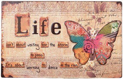 Life, Butterfly Wall Art  -