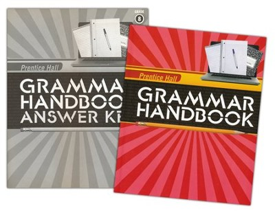 Grammar Handbook Grade 8 Homeschool Bundle   -