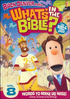 What's in the Bible? #8: Words to Make Us Wise, DVD   -     By: Phil Vischer