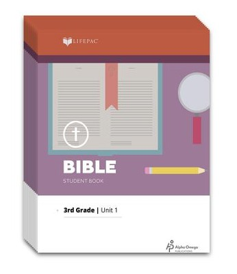 Lifepac Bible, Grade 3, Workbook Set   -     By: Alpha Omega