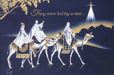 Led By a Star Christmas Cards, Box of 16  -