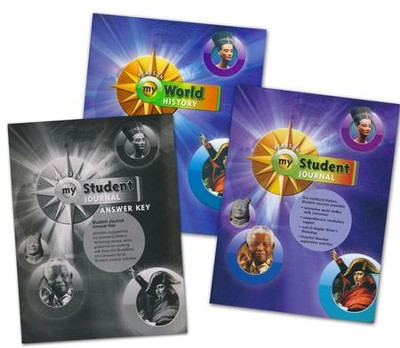 myWorld History Homeschool Bundle for Grades 7 & 8   -