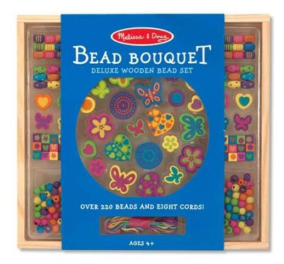 Bead Bouquet, Deluxe Wooden Bead Set   -