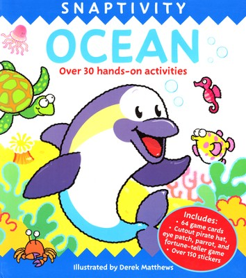 Snaptivity: Ocean   -     By: Derek Matthews, Illus.     Illustrated By: Derek Matthews