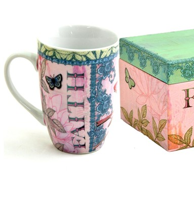 Mug In A Gift Box, Flights of Faith  -     By: Jennifer Parker