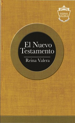 Reina Valera, Outreach, New Testament, Softcover, Gold  -
