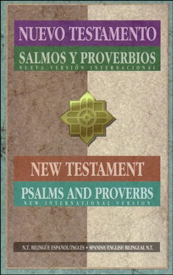 NVI/NIV, Spanish/English, New Testament with Psalms & Proverbs  -