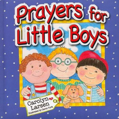 Prayers for Little Boys Book  -