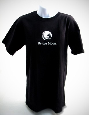 Be the Moon T-Shirt, Black, XX-Large   -