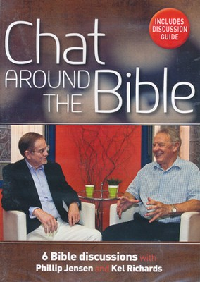 Chat Around the Bible DVD  -     By: Phillip Jensen, Kel Richards