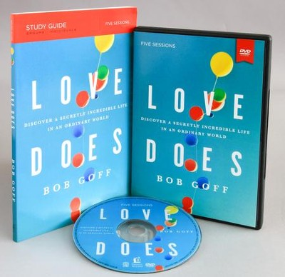 Love Does Study Guide with DVD  -     By: Bob Goff