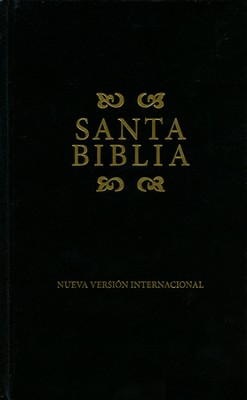 NVI Bible, Hardcover, Black - Slightly Imperfect  -
