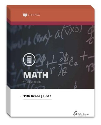 Lifepac Math, Grade 11 (Algebra II), Workbook Set   -     By: Alpha Omega