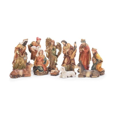 Nativity, Set of 11 Pieces  -