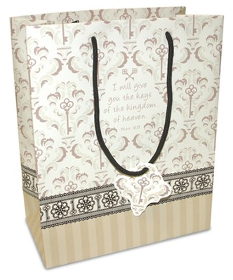 Keys of the Kingdom Gift Bag, Medium  -