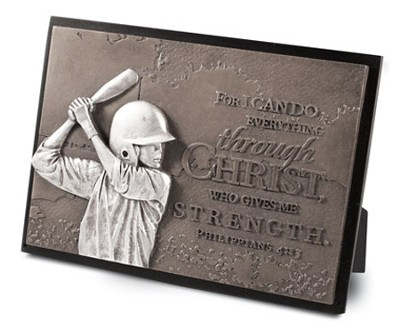 Determination Plaque, Baseball  -