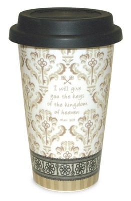Keys of the Kingdom--Travel Mug   -
