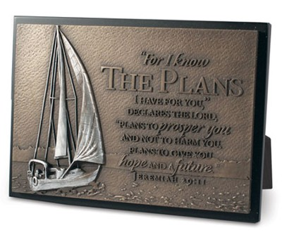 I Know the Plans Plaque, Sailboat  -