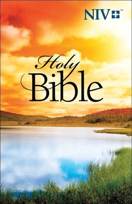 NIV Outreach Bible - Scenic cover  -
