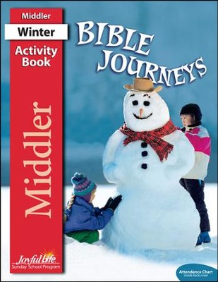 Bible Journeys Middler (Grades 3-4) Activity Book   -