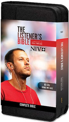 NIV Listener's Bible: Narrated by Max McLean, 65 Audio CD and 1 MP3 Disc  -     By: Max McLean