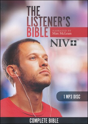 NIV Listener's Bible: Narrated by Max McLean, 1 MP3 Disc  -     By: Max McLean