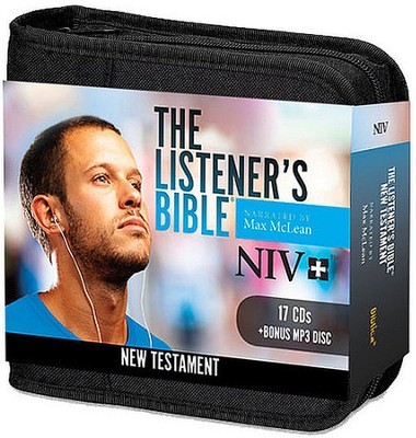NIV Listener's New Testament: Narrated by Max McLean, 17 Audio CD and 1 MP3 Disc  -     Narrated By: Max McLean     By: Narrated by Max McLean